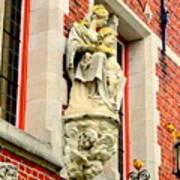 Bruges Detail 1 Art Print