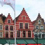 Bruges Markt 6 Art Print