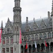 Bruges Markt 9 Art Print