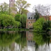 Bruges Minnewater 4 Art Print
