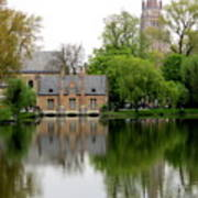 Bruges Minnewater 5 Art Print