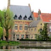 Bruges Sashuis 1 Art Print