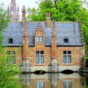 Bruges Sashuis 4 Art Print