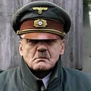 Bruno Ganz As Adolf Hitler Publicity Photo Number One Downfall 2004 Frame Added 2016 Art Print