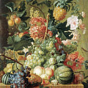 Brussel Fruits 1789 Art Print