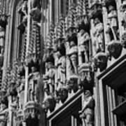 Brussels Gothic Art Print