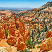 Bryce Canyon Fairyland Vista Art Print
