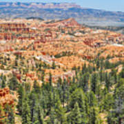 Bryce Canyon Fairyland Vista Point Art Print