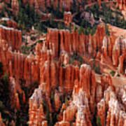 Bryce Canyon In Utah Art Print