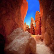 Bryce Canyon Narrows Art Print