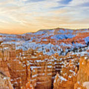 Bryce Canyon Sunset Art Print