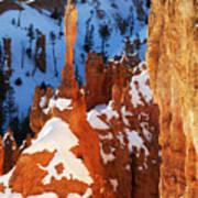 Bryce Canyon Winter 4 Art Print