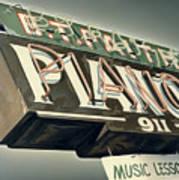 B.t.faith Pianos Art Print