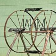 Bubbas  Fairs Wheel Art Print