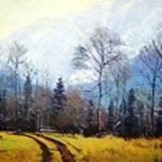 Bubber's Trail Art Print