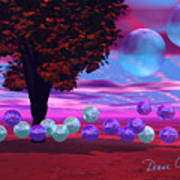 Bubble Garden Art Print
