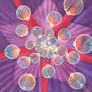 Bubble Glory Art Print