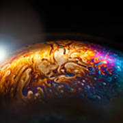 Bubble Planet I  Art Print