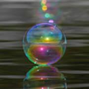 Bubble Shazam Art Print