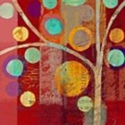 Bubble Tree - 85lc13-j678888 Art Print
