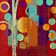 Bubble Tree - 85rc13-j678888 Art Print