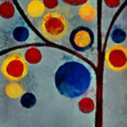 Bubble Tree - Dps02c02f - Left Art Print