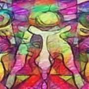 Bubbleclubtoo Art Print