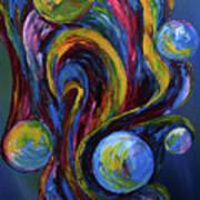 Bubbleicious Art Print