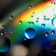 Bubbles Abstract Art Print