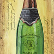 Bubbly Champagne 2 Art Print