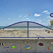 Buccaneer Beach Art Print