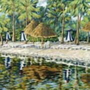 Buccaneer Island Art Print