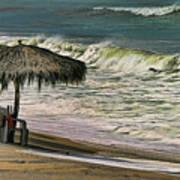 Bucerias Beach Mexico  Art Print