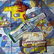 Buck Rogers And Animal Crackers Art Print