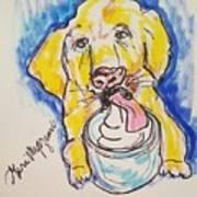 Buckett List For Dogs Art Print