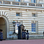 Buckingham Palace Guards Art Print