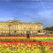 Buckingham Palace London Panorama Art Print