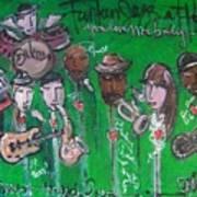 Buckner Funken Jazz Art Print