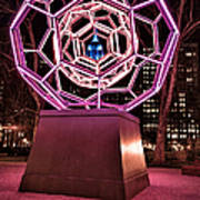 bucky ball Madison square park Art Print