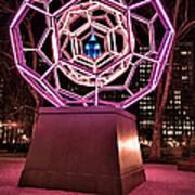bucky ball Madison square park Print by John Farnan