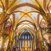 Budapest - Mathias Cathedral Art Print