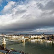 Budapest Panorama Art Print