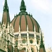 Budapest Parliment Art Print