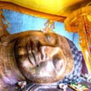 Budda Sleep Art Print