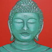 Buddah I Art Print