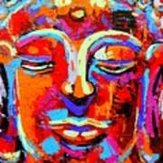 Buddha 3 Art Print