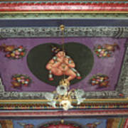 Buddha Ceiling Art Print