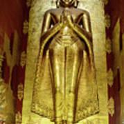 Buddha Figure 1 Art Print