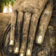 Buddha Hand Art Print by Adrian Evans