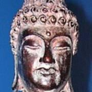Buddha Head 1 Art Print